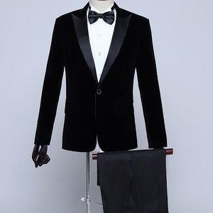 Other - Men's Black Tuxedo + Pants
